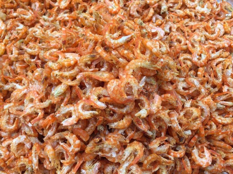 Culinária vietnamiana tradicional: camarão secado imagens de stock royalty free