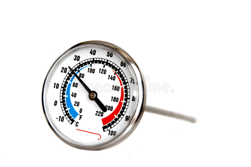 Culinaire Thermometer royalty-vrije stock foto