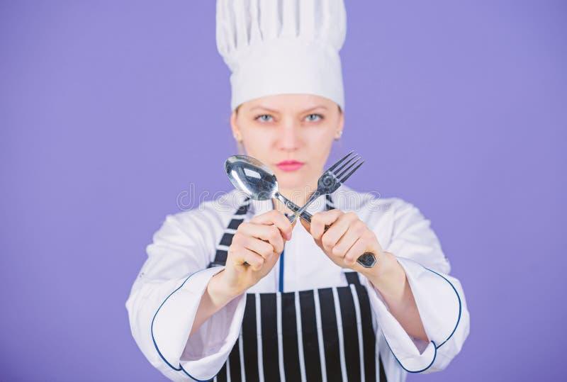Culinaire traditionnel Cuisinier professionnel d'?cole culinaire Acad?mie d'arts culinaires Concept culinaire d'?cole Femme photographie stock libre de droits