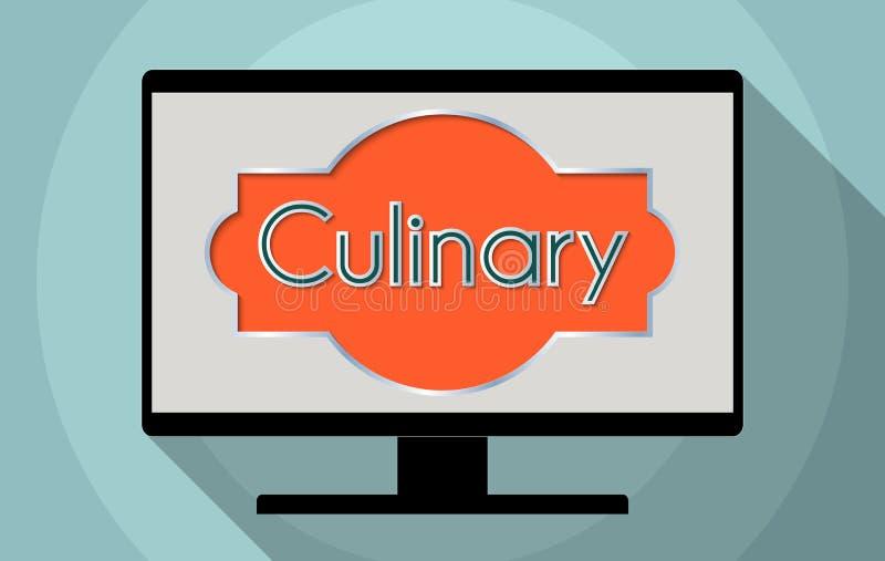culinary ilustração royalty free