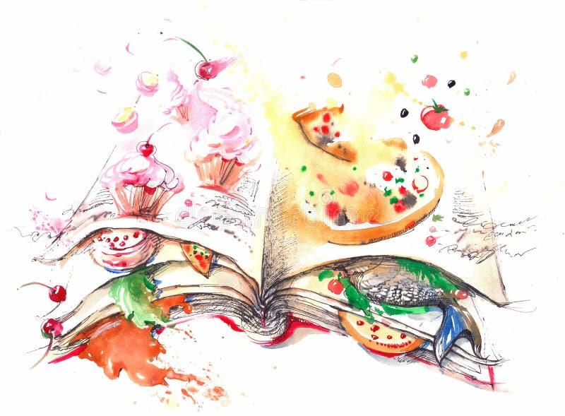 culinary ilustração do vetor