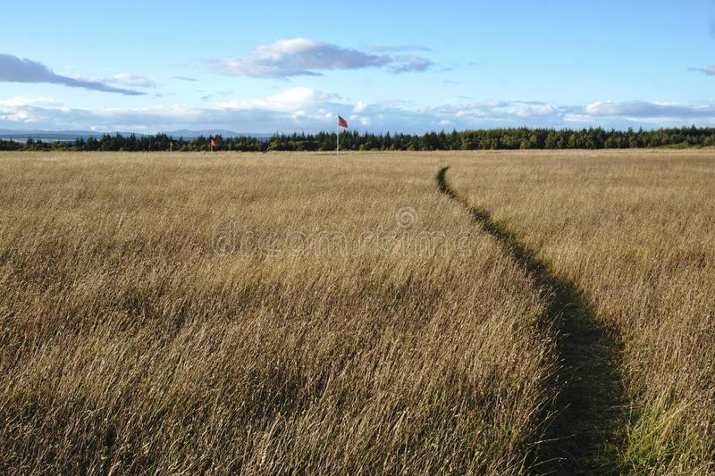 Culloden Battlefield. Site of bloody last battle of Jacobite Rising stock photos