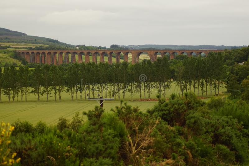 Culloden Viaduct royalty free stock photo