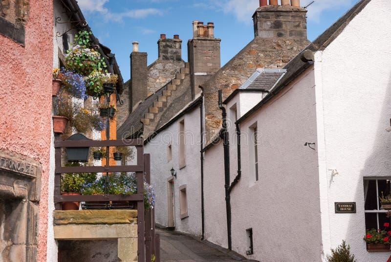 Culross Англия стоковые фото