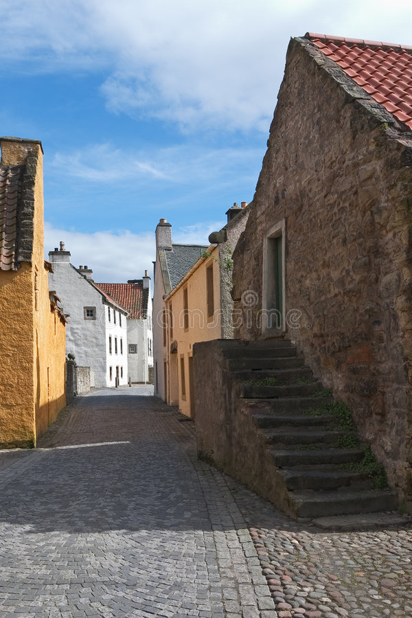 Download Culross stock photo. Image of medieval, town, scottish - 111212