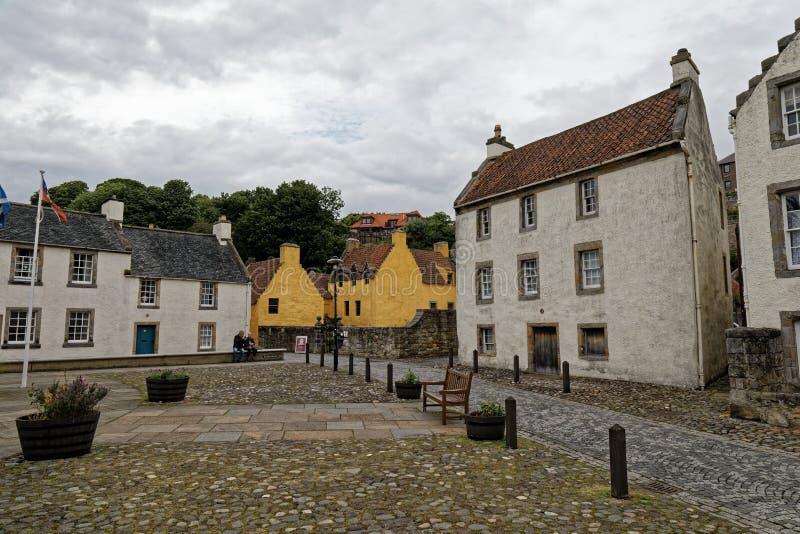 Culrossstad, Schotland royalty-vrije stock fotografie