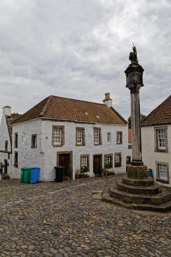 Culrossstad, Schotland stock afbeelding