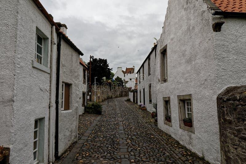 Culrossstad, Schotland stock afbeeldingen