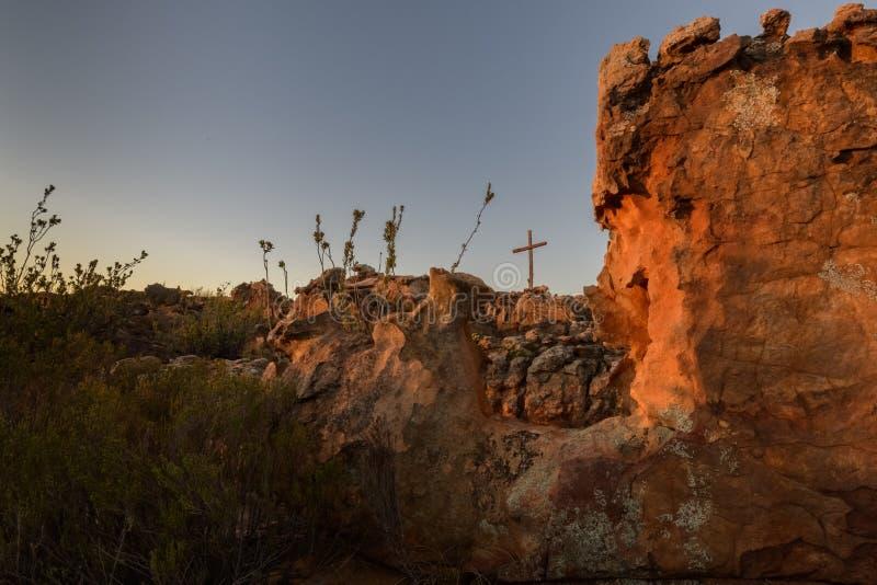 Culte dans la montagne de cèdre photo libre de droits