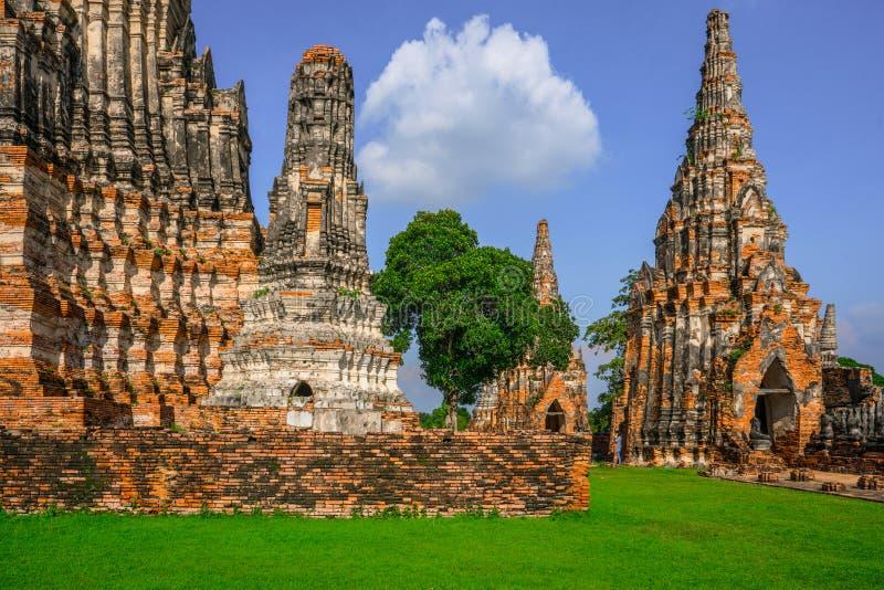 Culte de la Thaïlande, statue de Bouddha, histoire de la Thaïlande images stock