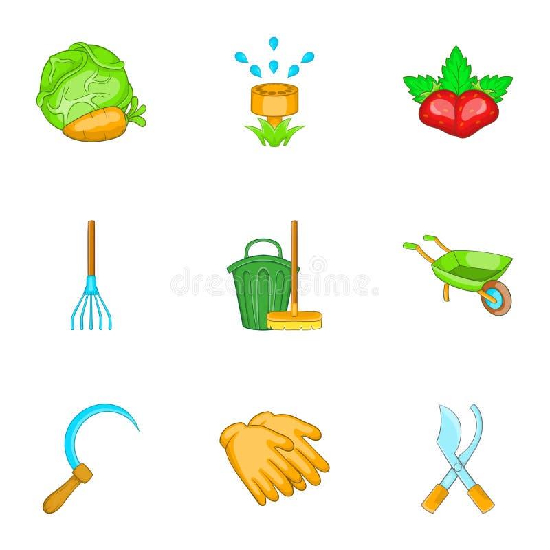 Download Cultivando Os ícones Ajustados, Estilo Dos Desenhos Animados Ilustração do Vetor - Ilustração de alimento, cenouras: 80101752