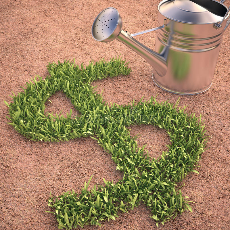 Download Cultivate Money Stock Photo - Image: 40214097