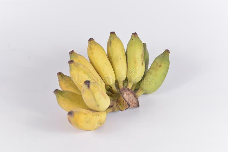 Cultive o objeto isolado banana imagem de stock royalty free