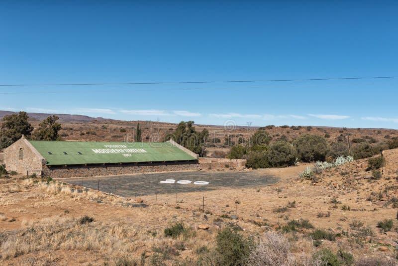 Cultivez la scène chez Modderfontein près de Phillipstown dans le Ca du nord photos stock