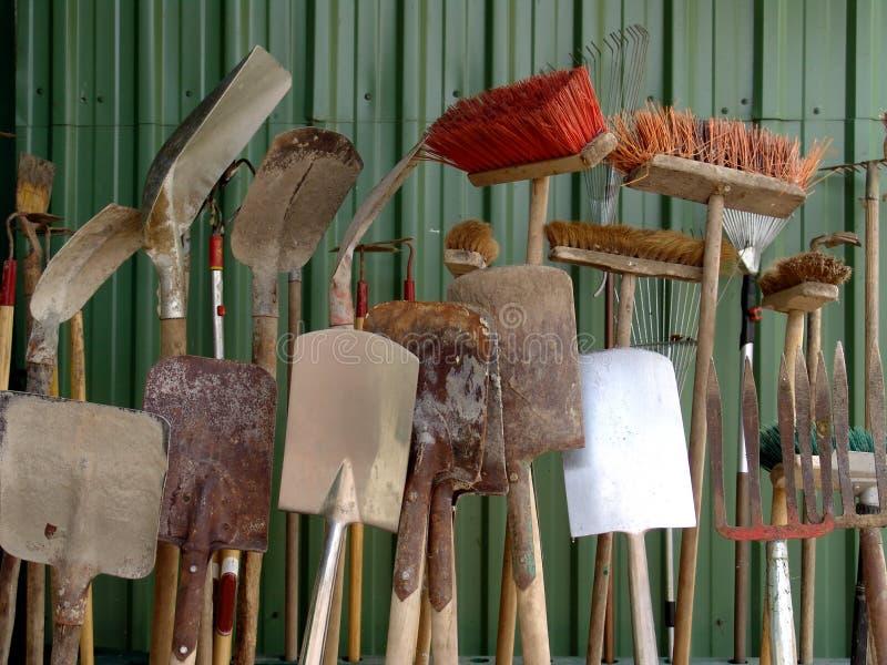 Cultivo de las herramientas foto de archivo libre de regalías