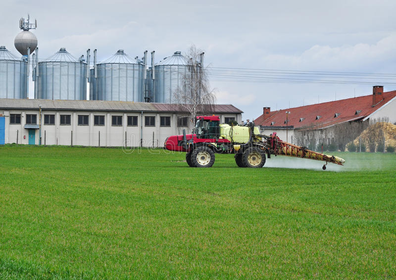 Cultivo do negócio da agricultura foto de stock royalty free
