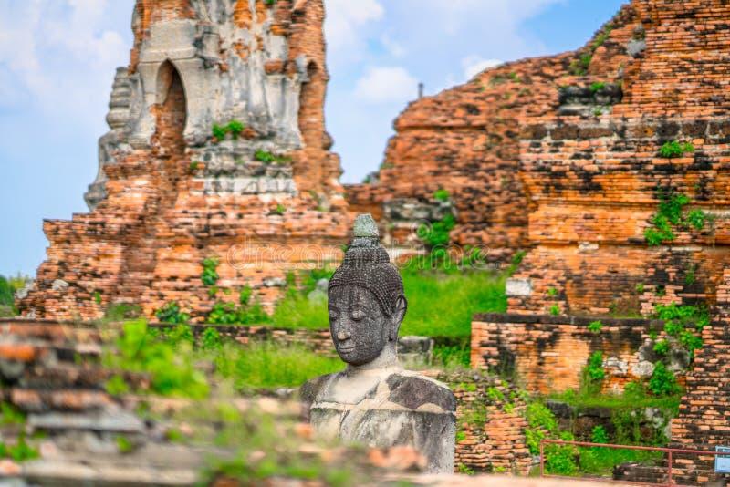 Culto della Tailandia, statua di Buddha, storia della Tailandia immagini stock