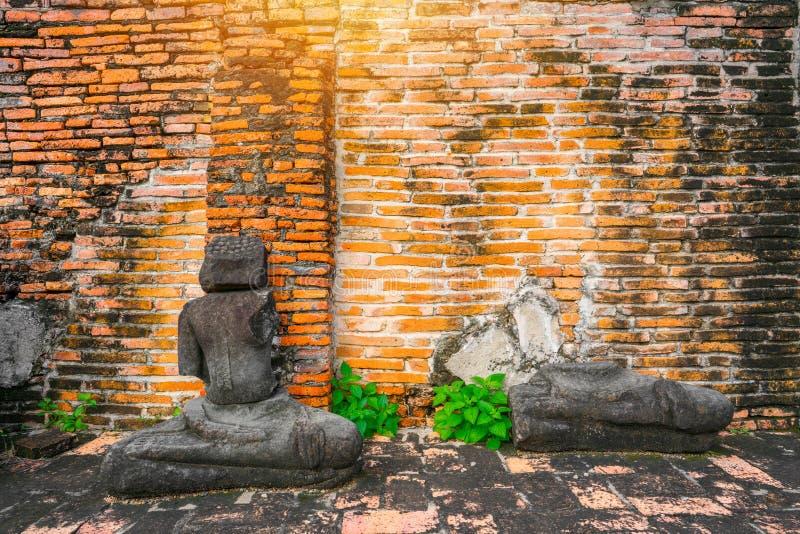 Culto della Tailandia, statua di Buddha, storia della Tailandia fotografia stock libera da diritti