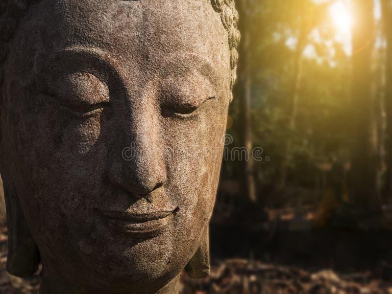 Culto della Tailandia, statua di Buddha, storia della Tailandia, sta di Buddha fotografia stock