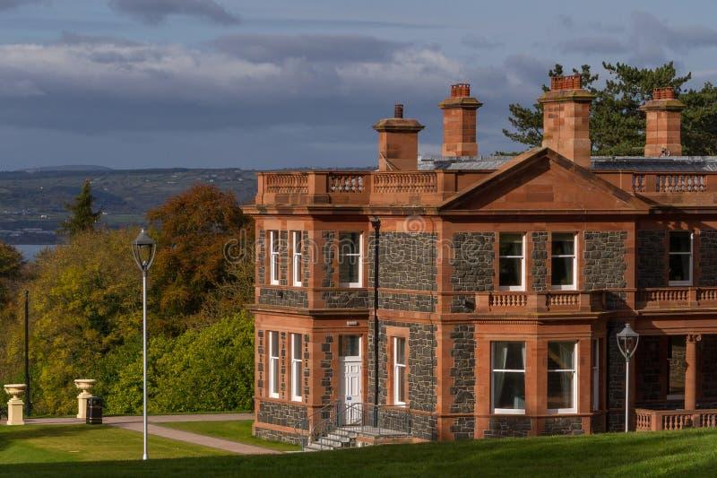 Cultra rezydencja ziemska, Północna - Ireland fotografia royalty free