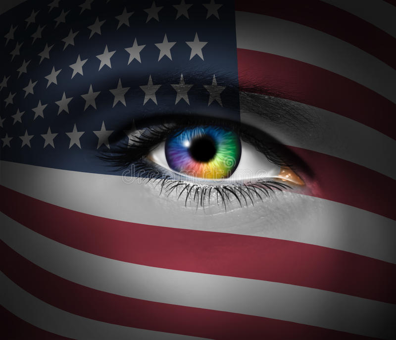 Cultura americana ilustração do vetor