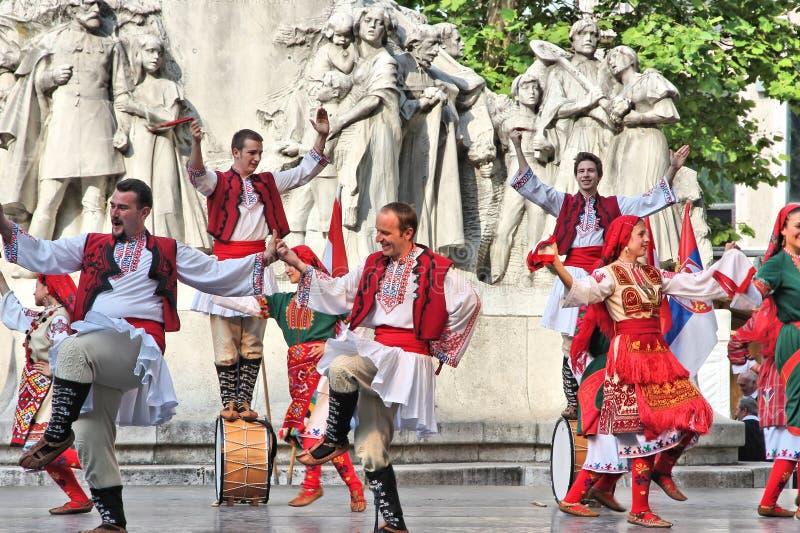 Cultura búlgara em Hungria fotografia de stock