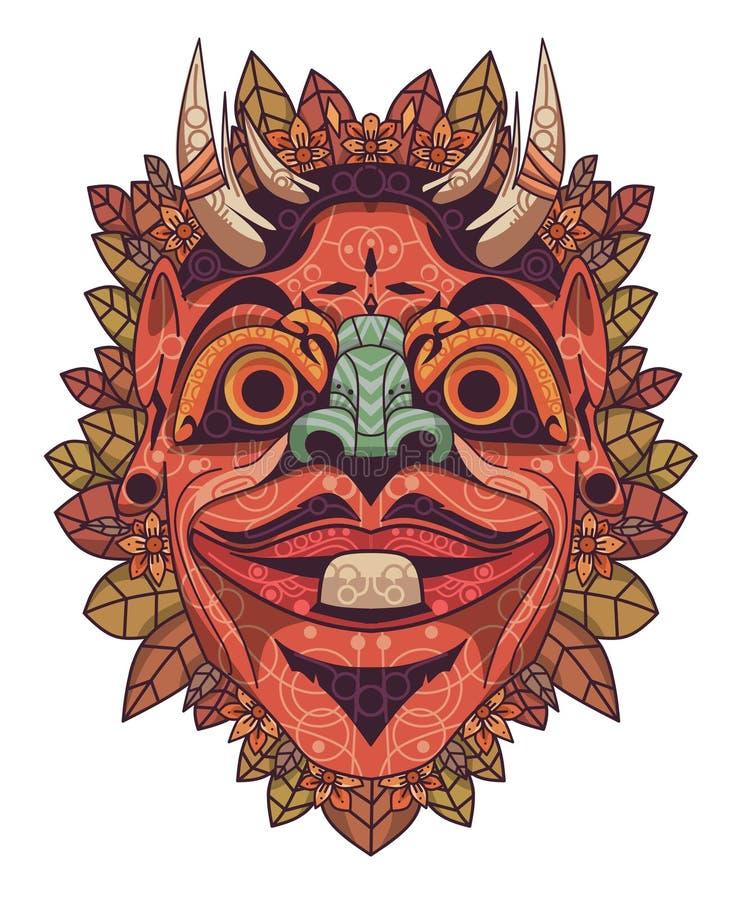 A cultura Cepot ilustração do vetor