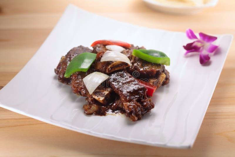 A cultura chinesa do alimento fotografia de stock