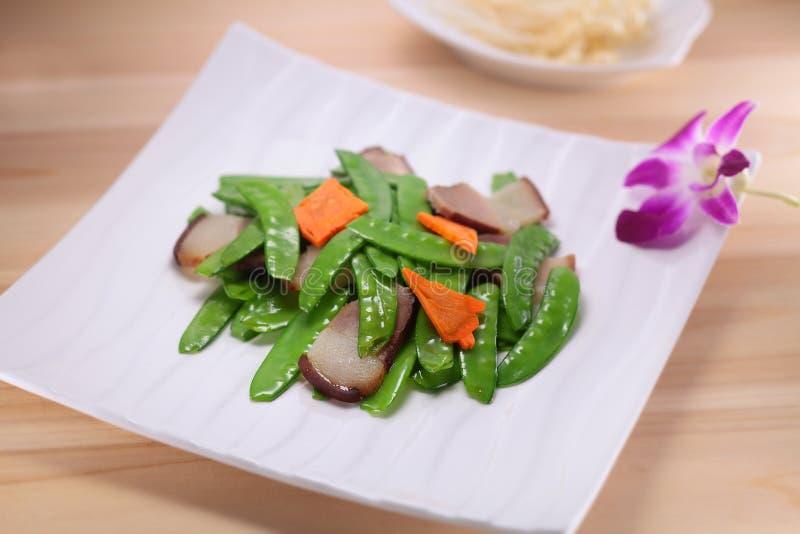 A cultura chinesa do alimento foto de stock