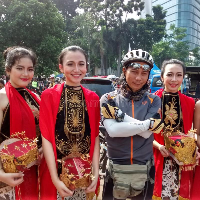 Cultura de Indonésia imagens de stock royalty free