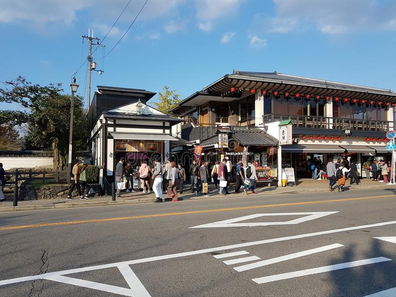 Cultura de Kyoto, Japão fotografia de stock