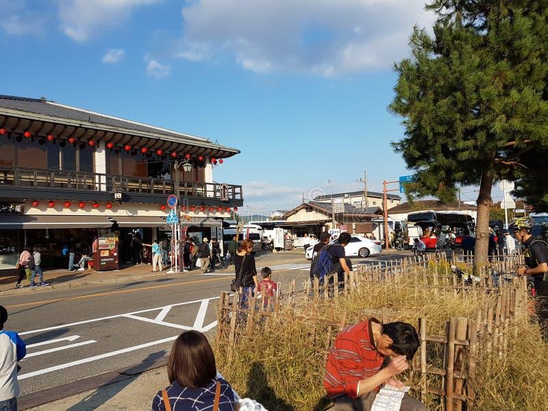 Cultura de Kyoto, Japão foto de stock