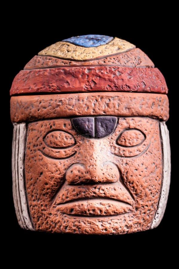 Cultura de Olmec imagen de archivo