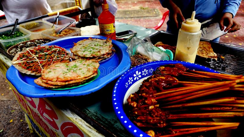 Cultura do alimento da rua de Vietname imagem de stock royalty free