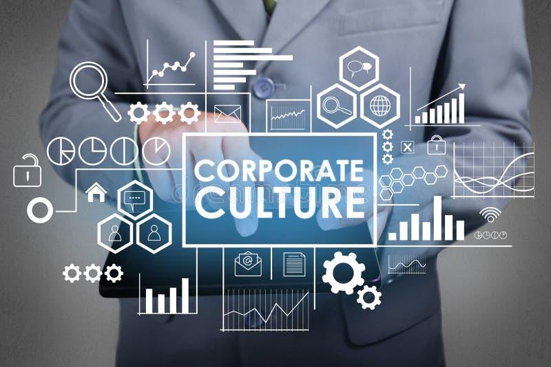 Cultura empresarial, conceito inspirador das citações das palavras do negócio fotos de stock royalty free