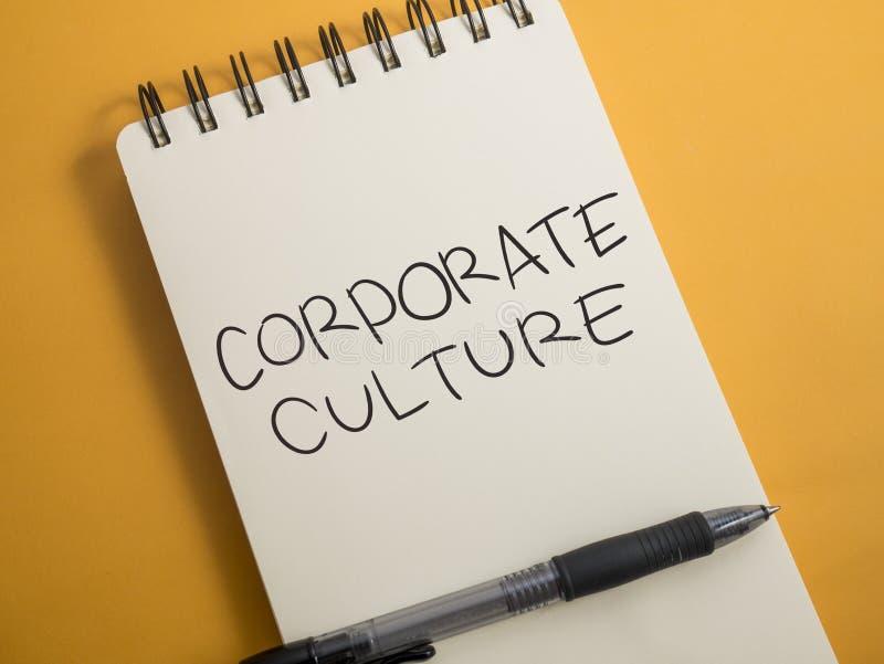 Cultura empresarial, conceito inspirador das cita??es das palavras do neg?cio fotos de stock