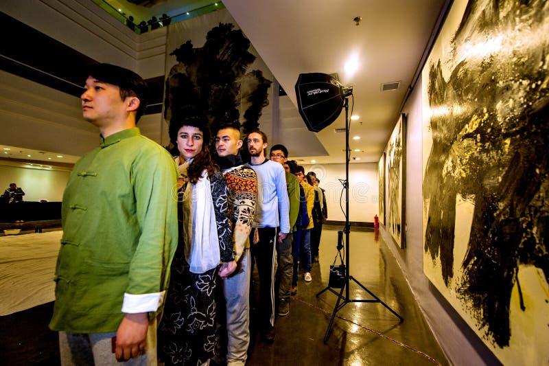 Cultura francese in Cina fotografie stock