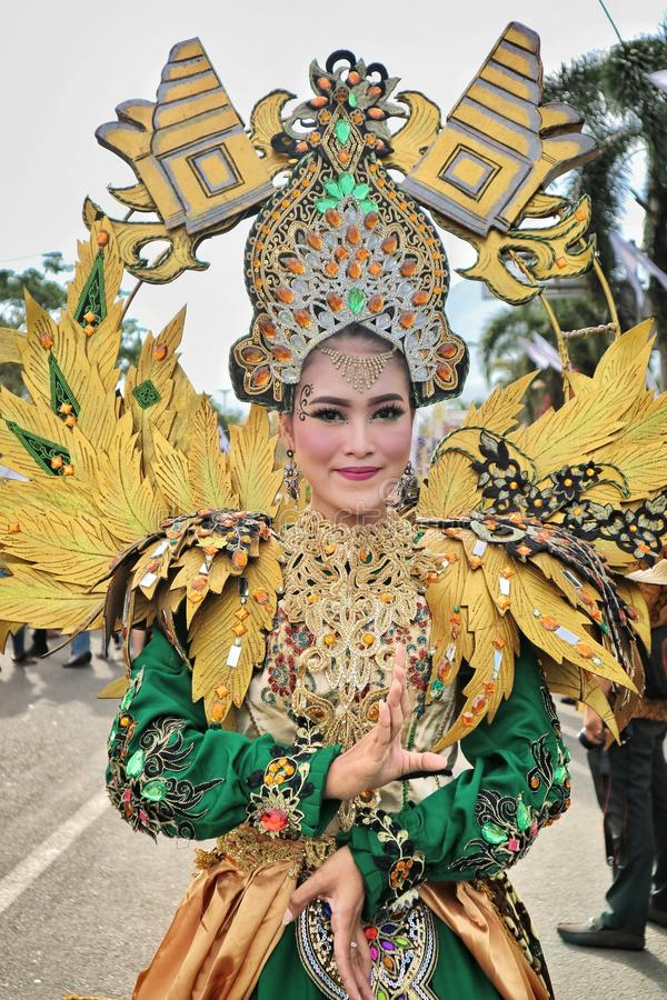 Cultura indonesiana fotografie stock
