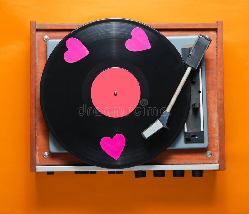 Cultura retro, Valentine' dia de s imagens de stock