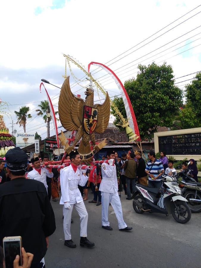 Cultura sola di carnevale del batik fotografie stock libere da diritti