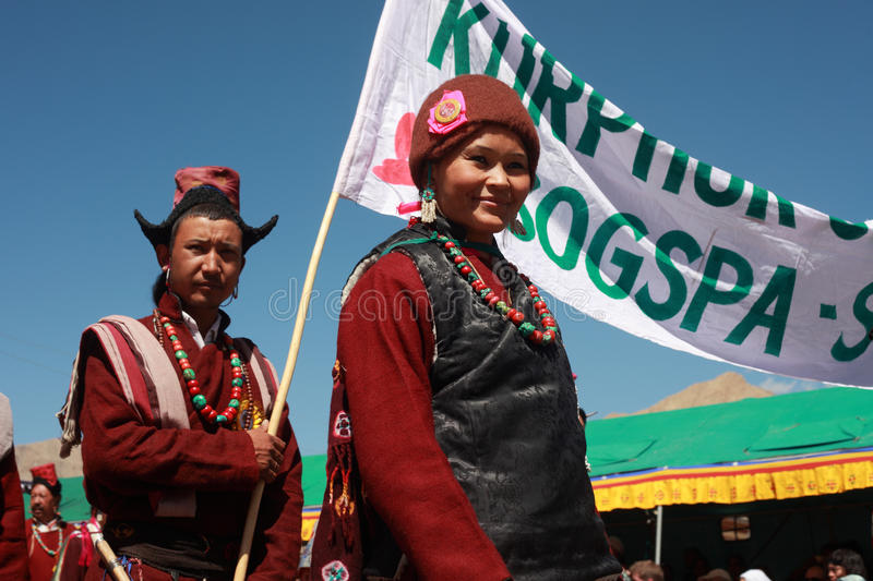 Download Cultural Procesion During Ladakh Festival Editorial Image - Image: 26773260