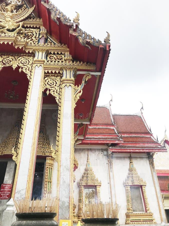 Culture bouddhiste Asie de la Thaïlande de temple photographie stock