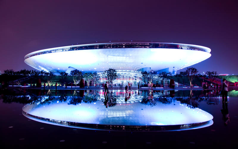 Download The Culture Center At World Expo In Shanghai Editorial Stock Photo - Image: 14859788