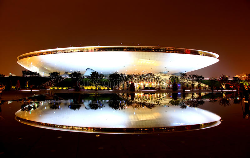 Download The Culture Center At The World Expo In Shanghai Editorial Stock Photo - Image: 14859793