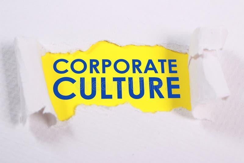 Culture d'entreprise, concept de motivation de citations de mots d'affaires photographie stock libre de droits