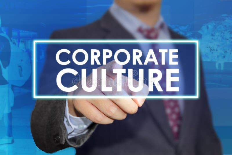 Culture d'entreprise, concept de motivation de citations de mots d'affaires photos stock