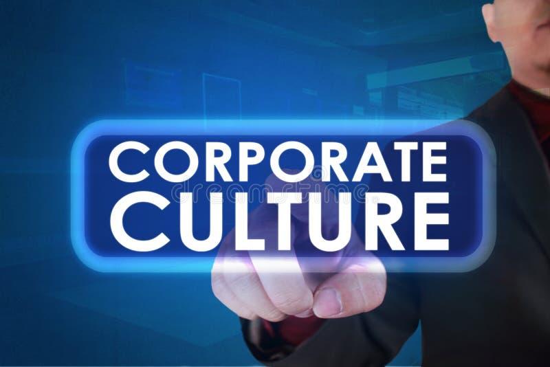 Culture d'entreprise, concept de motivation de citations de mots d'affaires image libre de droits