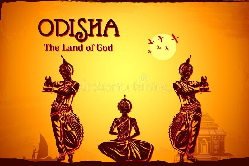 Culture d'Odisha illustration libre de droits