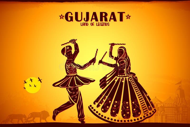 Culture de Gujrat illustration libre de droits