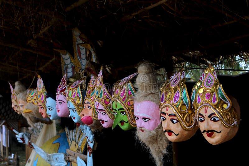 Culture de masque d'Assam image libre de droits